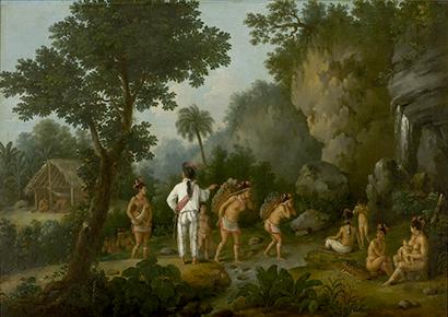 Le Chasseur d'esclaves amérindiens, J-B. Debret